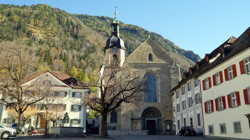 Kathedrale Chur mit Haupteingang | © Georges Scherrer
