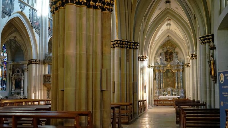 Blick in die Kathedrale Freiburg | © 2015 Georges Scherrer