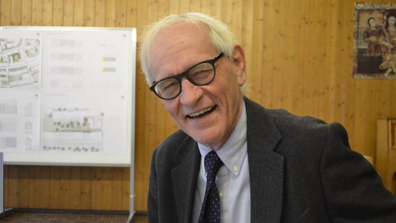 Bernhard Glanzmann, Kirchenrat der Römisch-katholischen Kirche Basel-Stadt, Leiter Bauwesen | © 2016 Regula Pfeifer