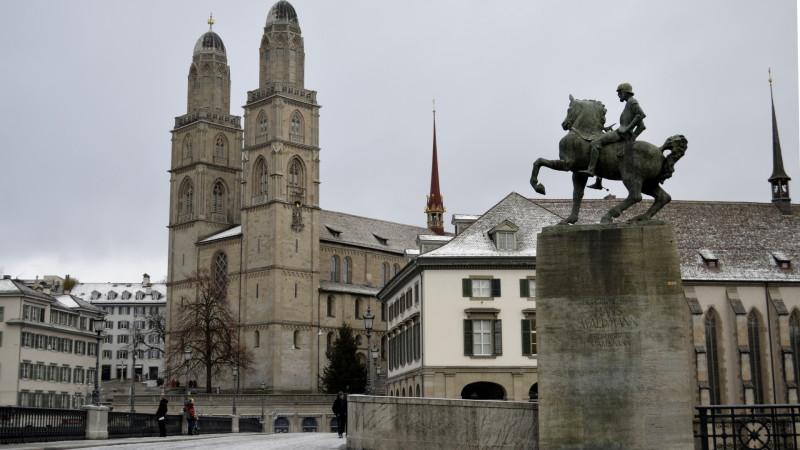 Das reformierte Grossmünster Zürich | © Regula Pfeifer