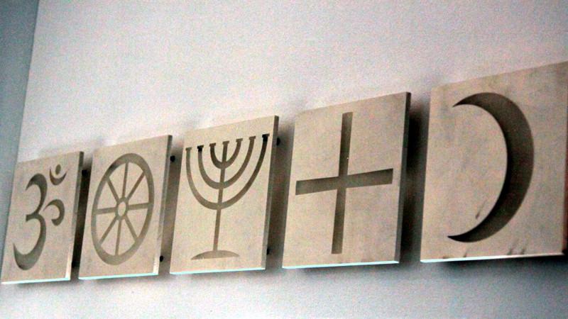Juden im Reigen der Religionen: Bahnhofkirche Zürich | © Andrea Krogmann