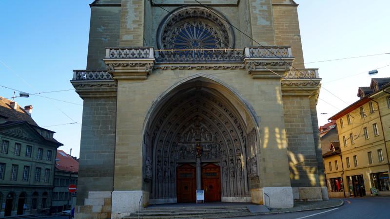 Kathedrale Freiburg, der Eingang | © 2016 Georges Scherrer