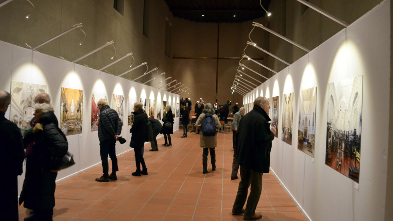 Ausstellung «Messe beendet» in Basler Kirche Don Bosco | © Regula Pfeifer