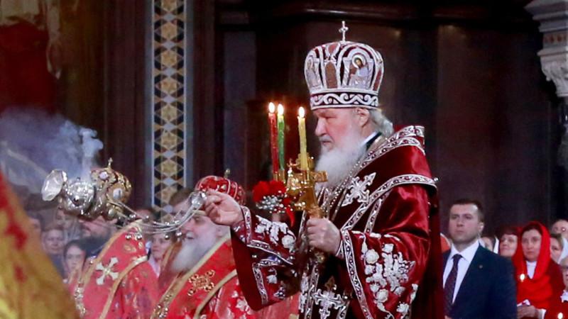 Ostergottesdienst mit Kyrill I., russisch-orthodoxer Patriarch | © 2015 KNA