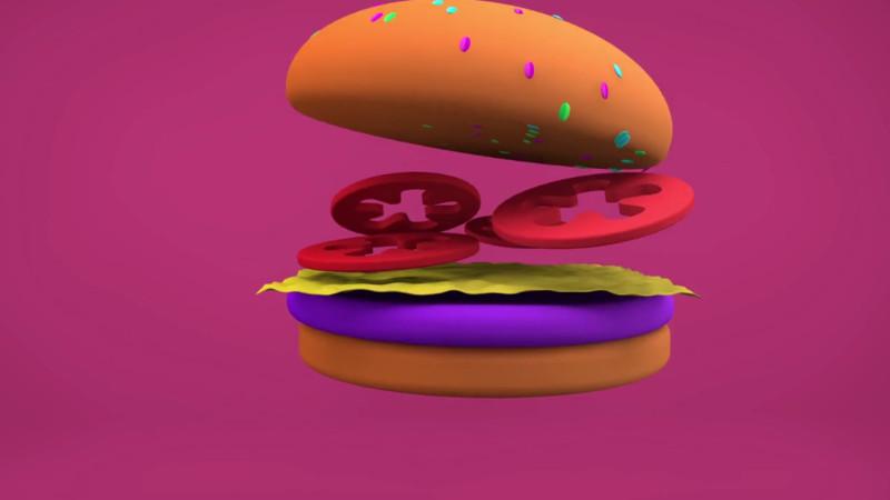 Hamburger in Florin's Sieger-Clip für «40 tage ohne» | © 2016 screenshot junge-erwachsene.ch