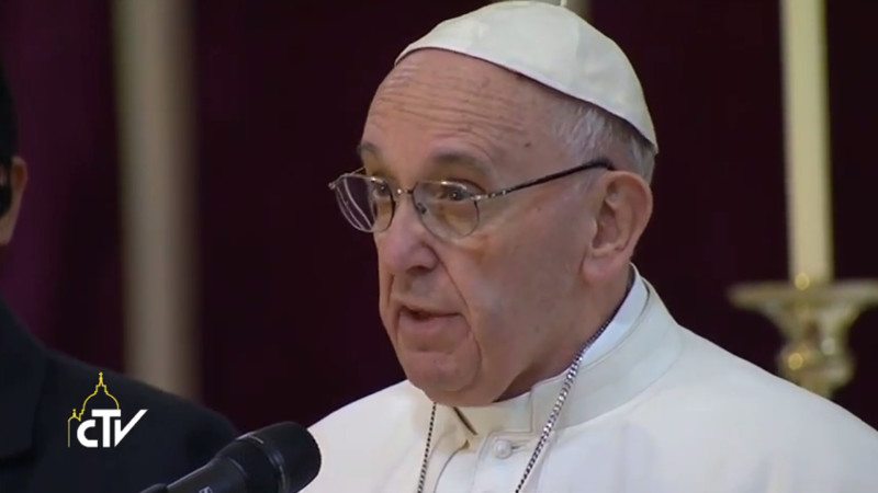 Papst Franziskus | © screenshot Radio Vatikan