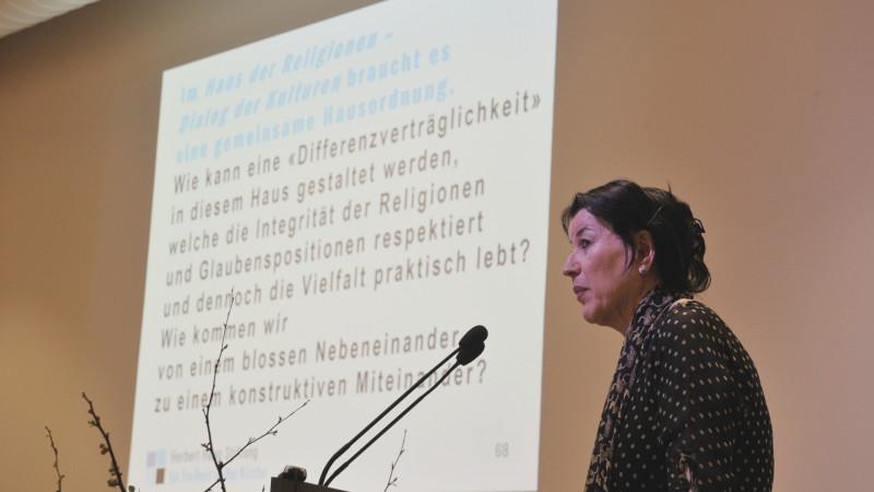 Rifa'at Lenzin, Islamwissenschaftlerin | © 2016 Vera Rüttimann
