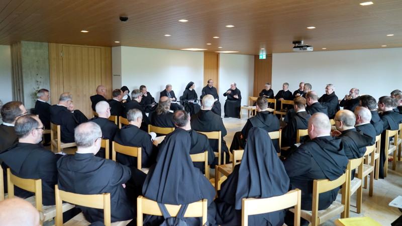 «Salzburger Äbtekonferenz» im Lassalle-Haus | © 2016 Georges Scherrer