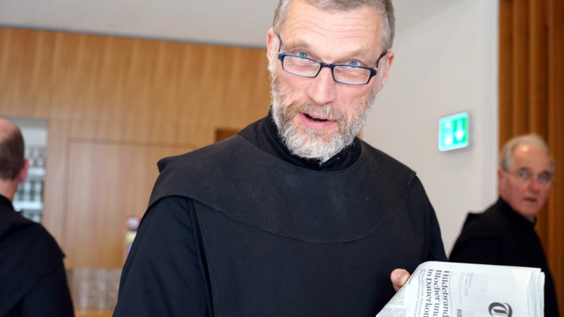 Abt Peter von Sury | © Georges Scherrer