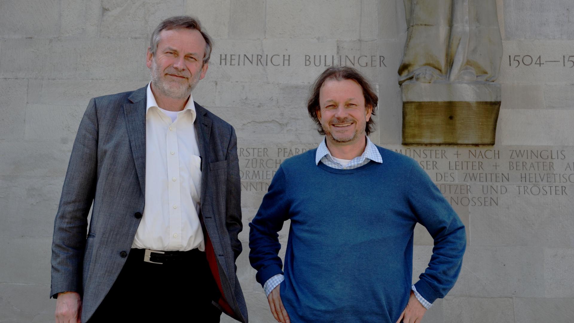 Christoph Sigrist (links) und Res Peter   © Martin Spilker