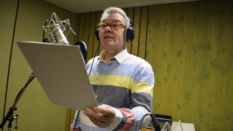 Radioprediger Eugen Koller: Studioaufnahme | © 2016 Regula Pfeifer