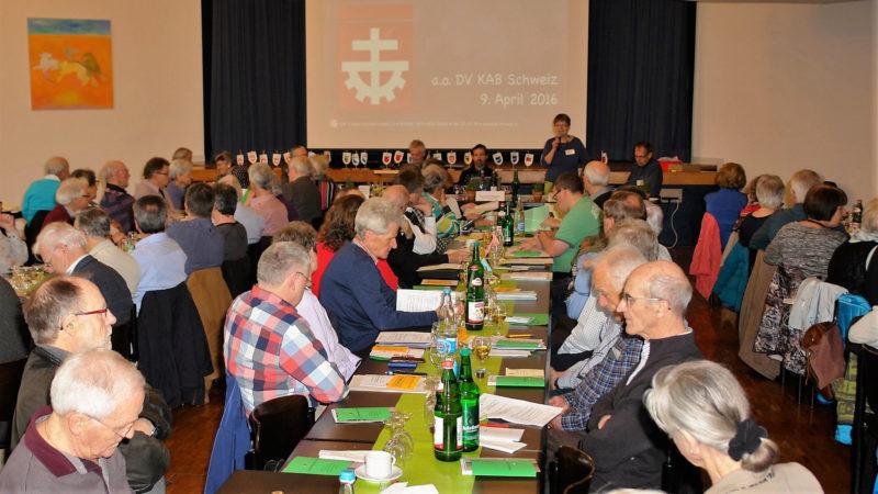 Ausserordentliche DV der KAB Schweiz im Pfarreizentrum Liebfrauen in Zürich | © 2016 zVg