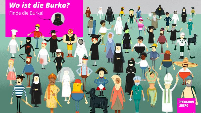 Petition gegen Burka-Verbot | © 2016 Operation Libero