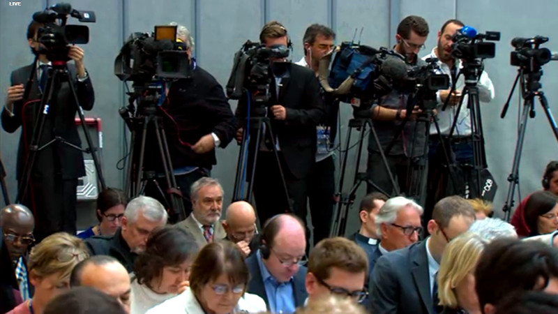Pressekonferenz zu Amoris laetitia | © 2016 screenshot radio vatican