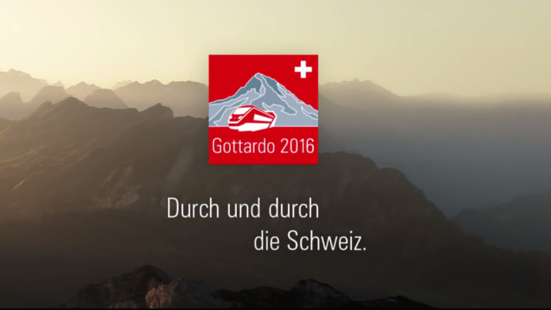 Eröffnung Gotthard Basistunnel   Screenshot      Gottardo 2016