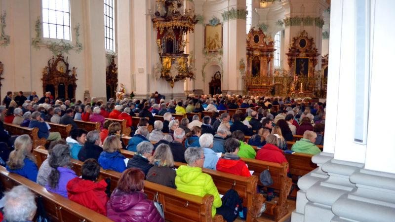 Frauen Pilgern nach Rom – Startgottesdienst in St. Gallen | © 2016 Sylvia Stam
