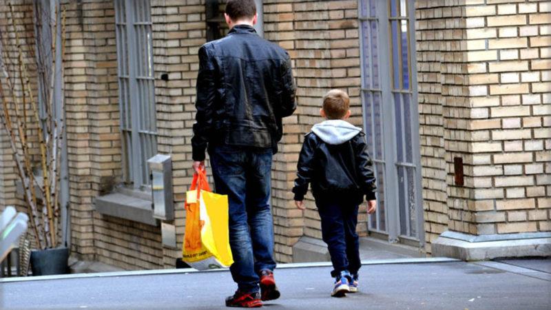 Vater und Junior unterwegs | © Georges Scherrer