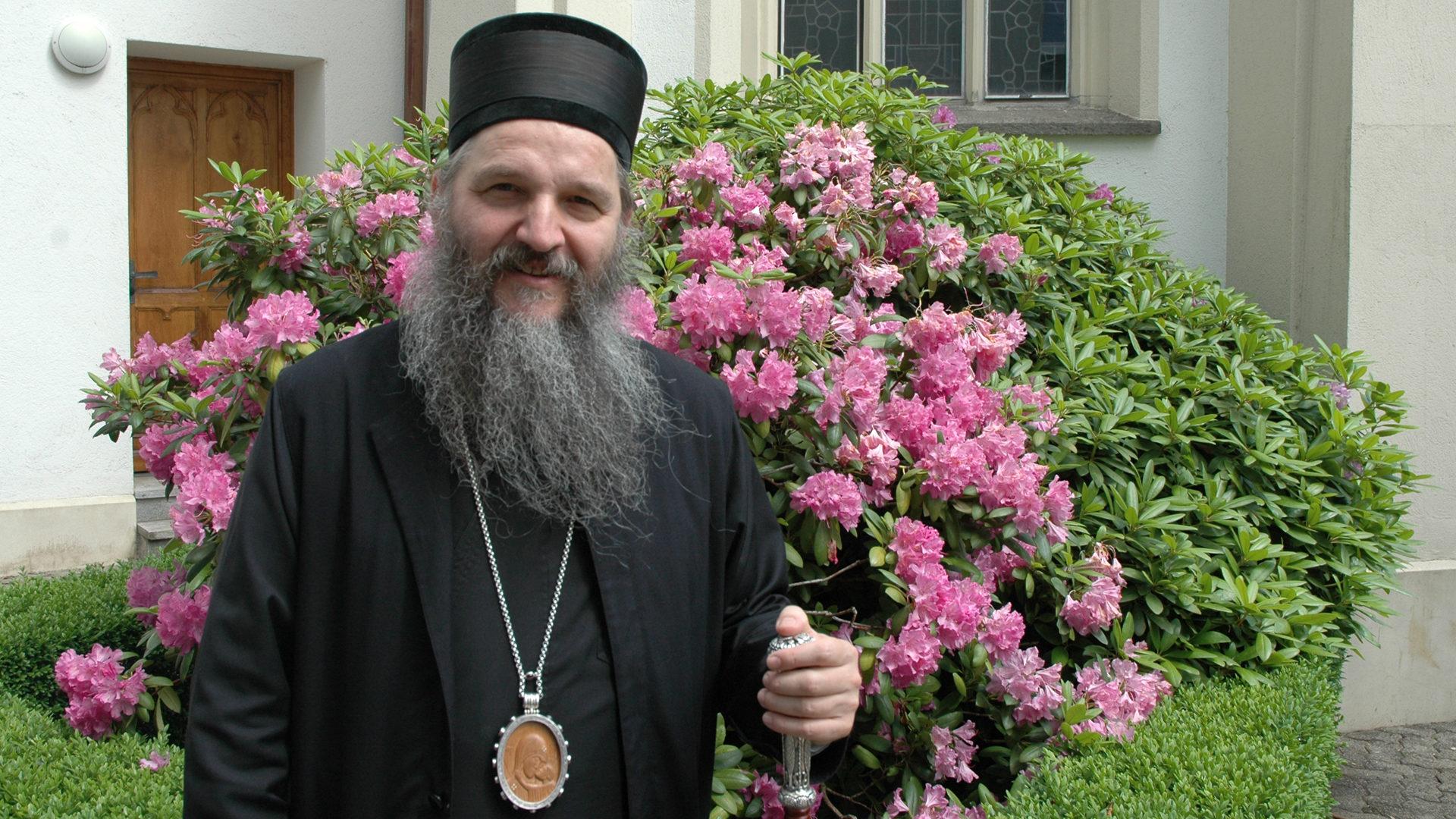 Orthodoxer und weltlicher Russe