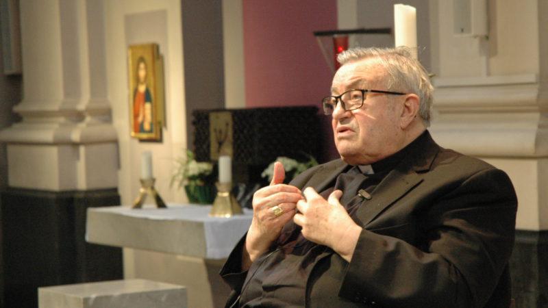 Kardinal Karl Lehmann in Basel | © 2016 Martin Spilker