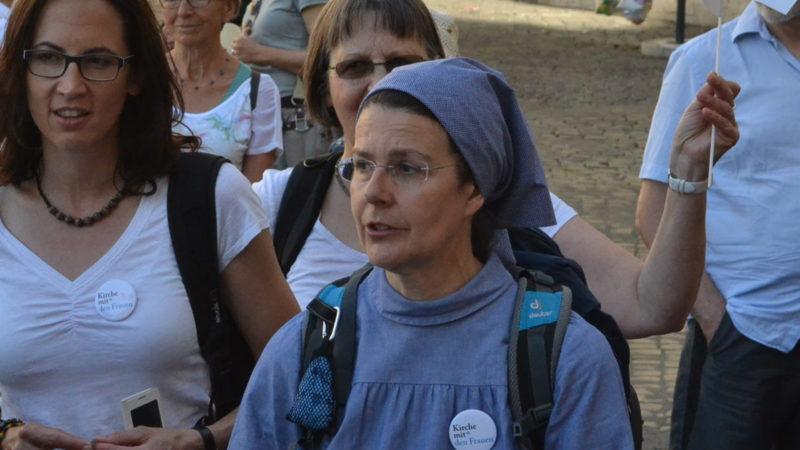 Priorin Irene Gassmann in Rom   © Sylvia Stam