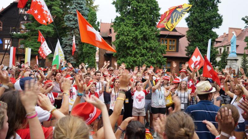 Schweizer Jugendliche am Weltjugendtag | © Vera Rüttimann