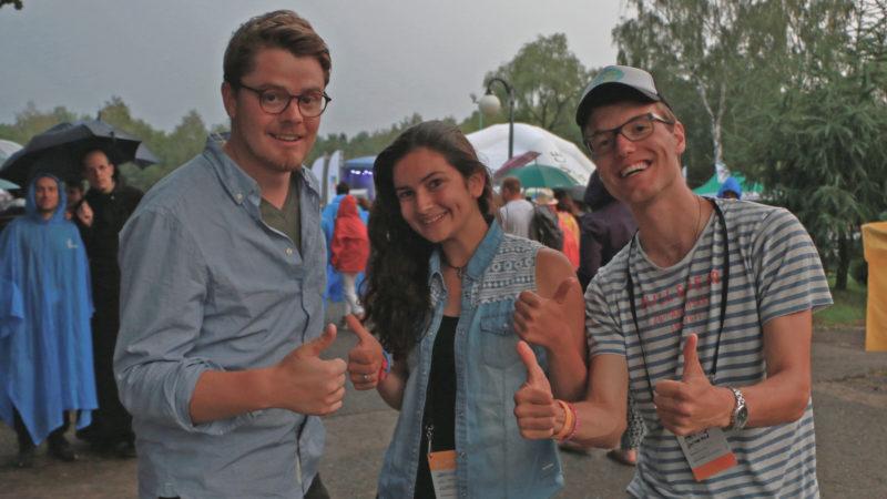 Drei Schweizer WJT-»Macher» (von links): Martin Iten, Jessica Schmid, Gabriel Müggler. | © zVg