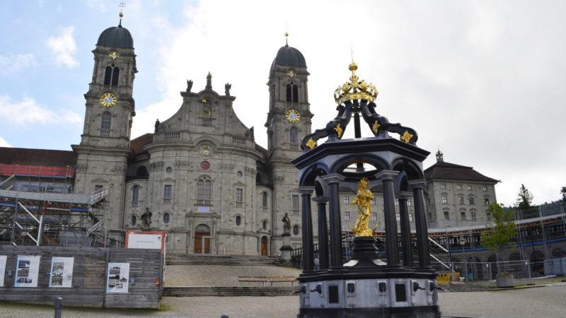 Sanierung des Klosterplatzes in Einsiedeln | © Regula Pfeifer