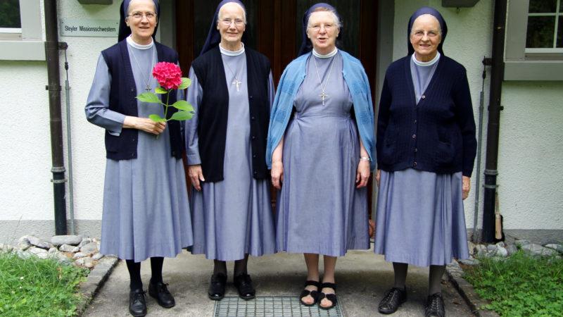 Die Steyler Schwestern, die nach Laupheim ziehen.   © Kommunikation Steyler Missionare, Karin Herzog