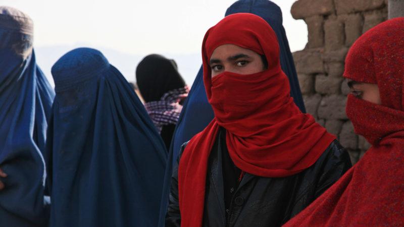 Burka- und Schleierträgerinnen | © Pixabay