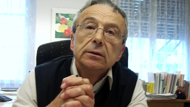 Alfred Dubach im Jahr 2005 | © Josef Bossart