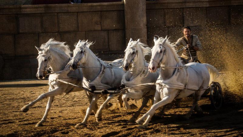 Jack Huston im Wagenrennen als Judah Ben Hur | © Universal Pictures