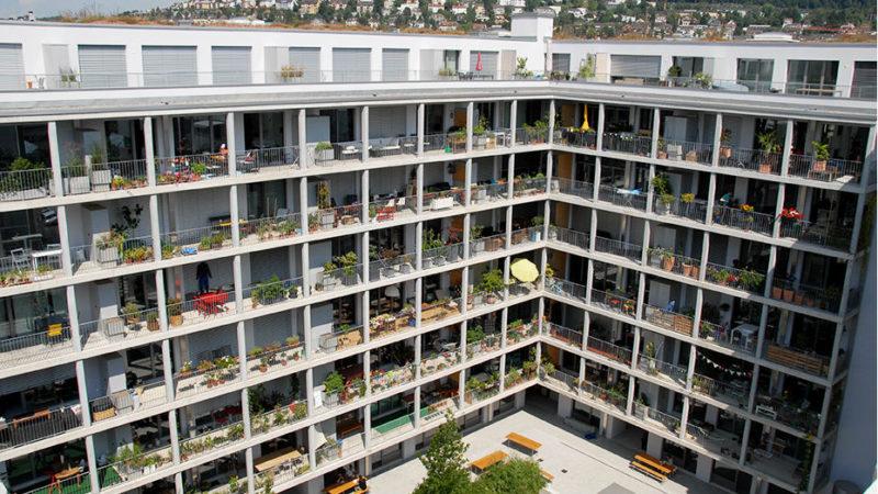 Die 54 Wohnungen im Kulturpark  | © Hamasil