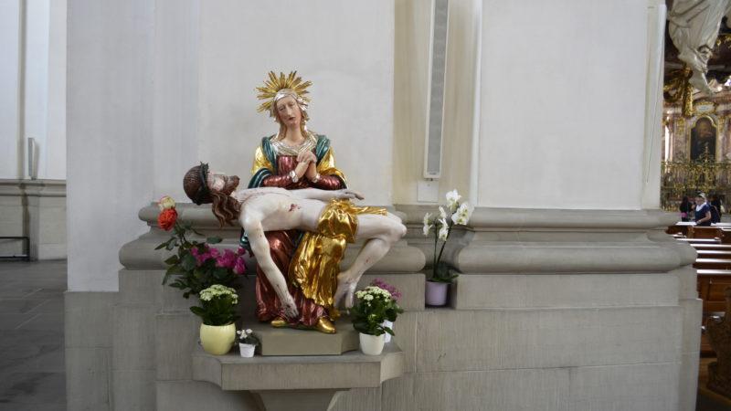 Maria und Jesus in der Kathedrale St. Gallen  | © Regula Pfeifer