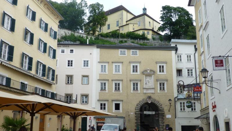 Das Kapuzinerkloster Salzburg liegt oben auf dem Kapuzinerberg | © zVg/Kapuzinerkloster Salzburg