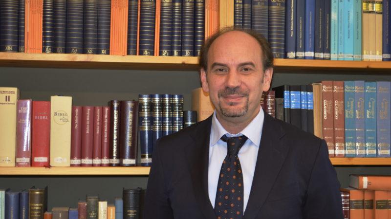 Samuel Behloul im Zentrum für Interreligiösen Dialog | © Regula Pfeifer