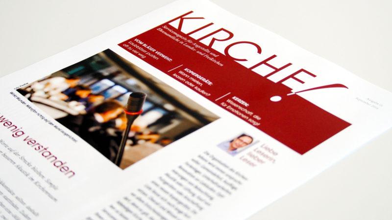Service-Magazin «Kirche!» | © zVg Dornbusch Medien