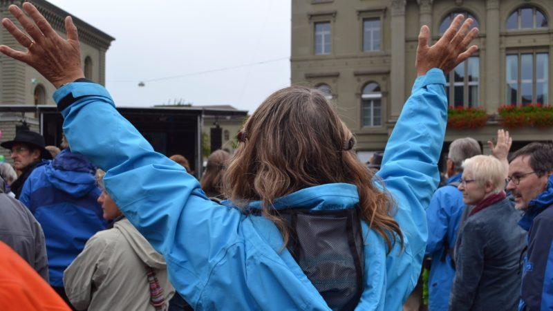 Hände in die Luft | © Francesca Trento