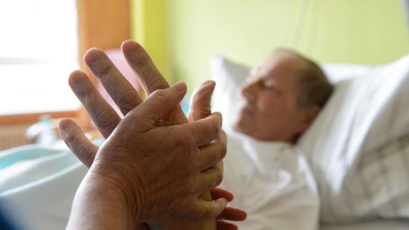 Palliativstation in einem Krankenhaus | © KNA