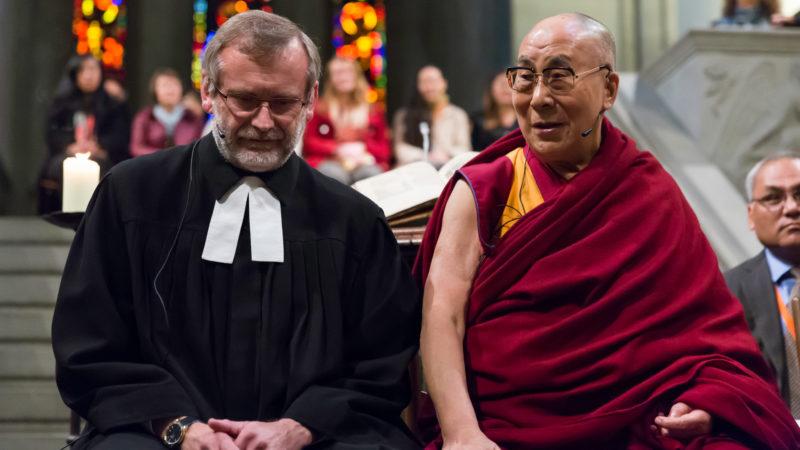 Christoph Sigrist und der Dalai Lama | © Yannick Gysin