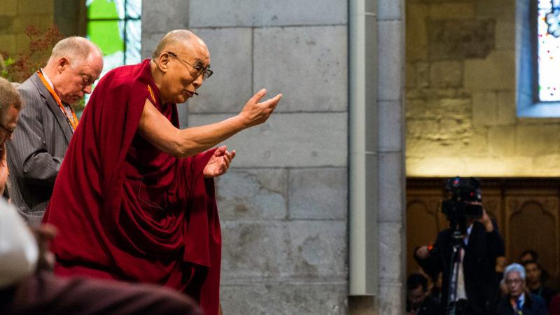 Der Dalai Lama im Grossmünster | © Yannick Gysin