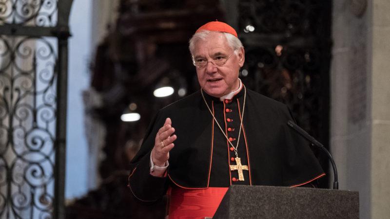 Kardinal Gerhard Ludwig Müller in Luzern | © Roberto Conciatori Photographer SBF