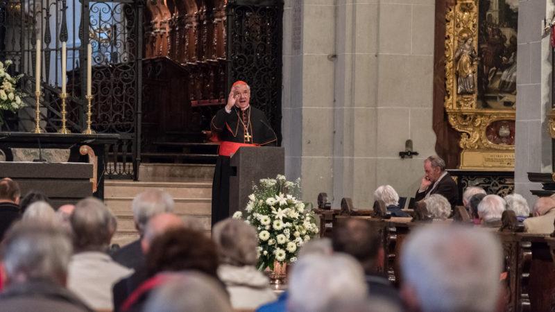 Kardinal Gerhard Ludwig Müller in Luzern | © 2016 Roberto Conciatori Photographer SBF