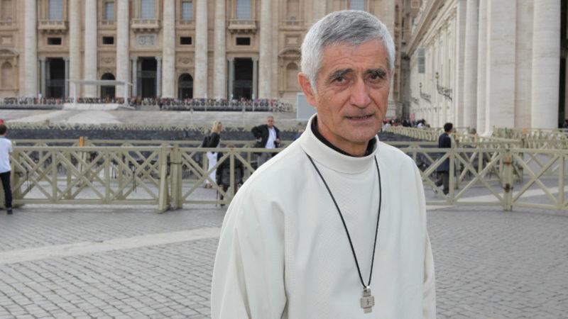 Jean-Marie Lovey, Bischof von Sitten, in Rom | © Bernard Hallet