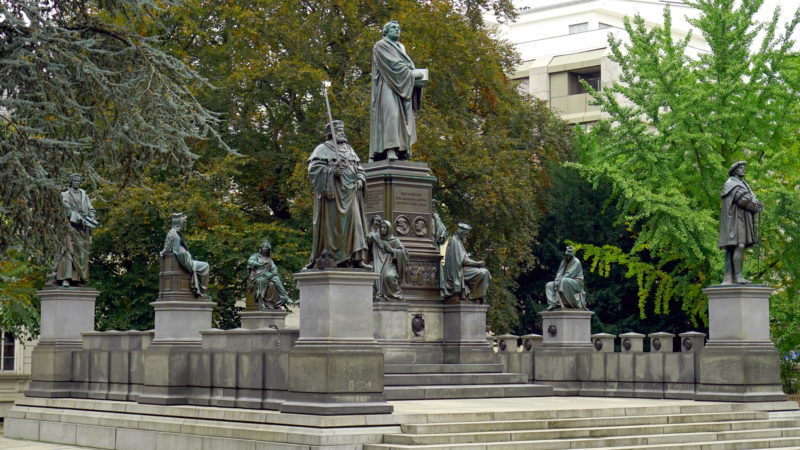 Luther-Denkmal in Worms | © Georges Scherrer