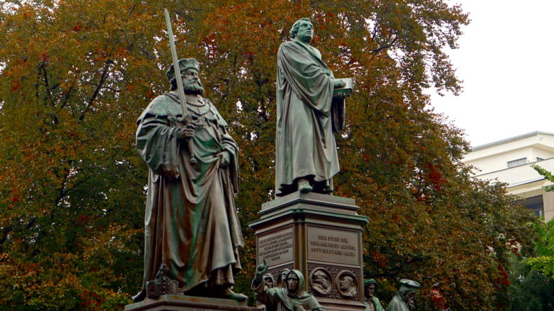 Luther-Denkmal in Worms   © Georges Scherrer