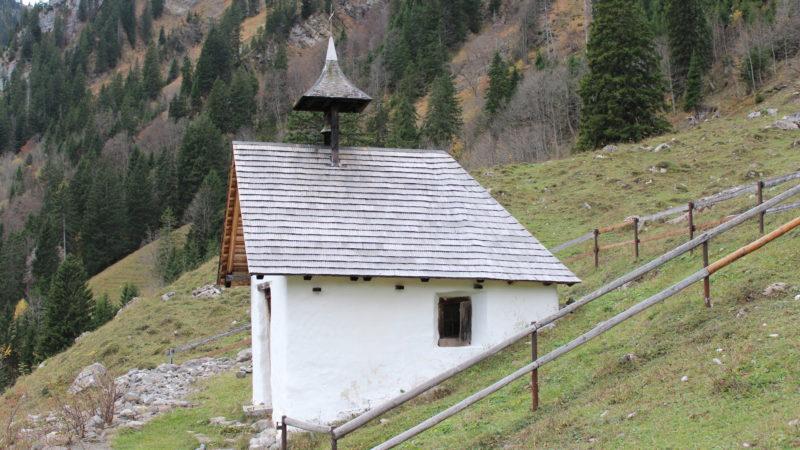 Kapelle Chlisterli, Melchtal OW | © Sakrallandschaft Innerschweiz