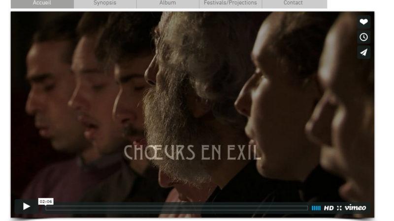 Filmstill aus dem Film «Choeur en exil» | © printscreen choeurs-en-exil.com