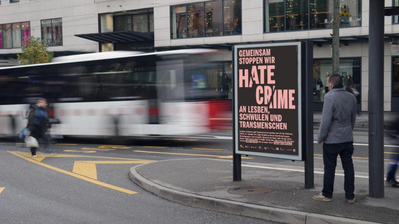 Visualisierung der Plakatkampagne | © LGBT-Helpline