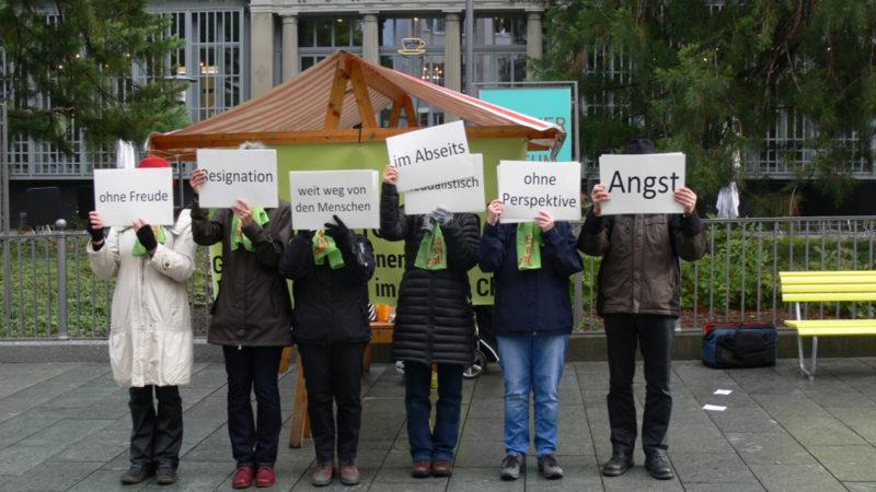 Unterschriftensammlung Allianz «Es reicht» | @ zVG