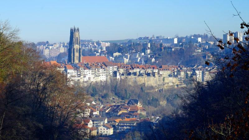 Die Altstadt von Freiburg mit Kathedrale | © Georges Scherrer